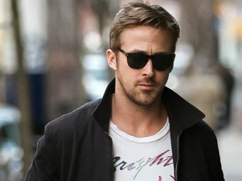 Ryan Gosling in the movie fifty shades