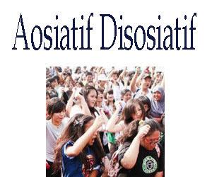 Proses Asosiatif dan Disosiatif