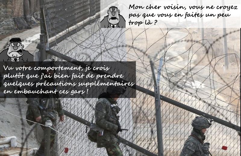 Conflit de voisinage ou guerre frontalière ?