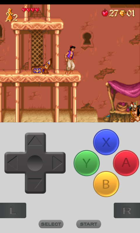 Aladdin Nintendo game for Windows Phone 8
