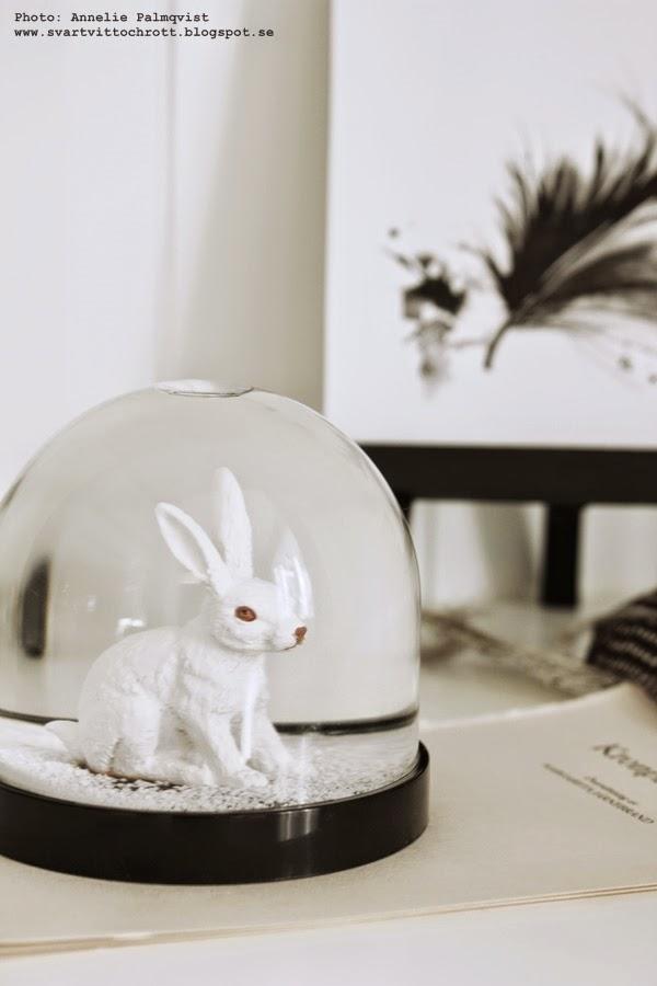 kanin, inredning, detaljer, i vtrinskåpet, snöboll, snowball, inredningsblogg
