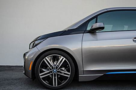 BMW i3 gets a lowering kit from H&R Springs