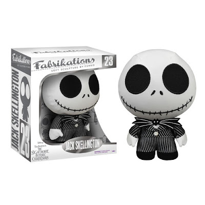 The Nightmare Before Christmas Jack Skellington Fabrikations Plush by Funko