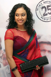Rupa Manjari's Sizzling Hot Shoot in Red Saree