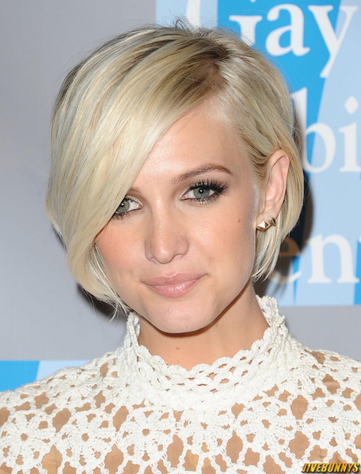 Причёски короткие на одну сторону фото