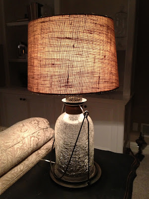 Sensible Redesign Pottery Barn Lamp Knock Off