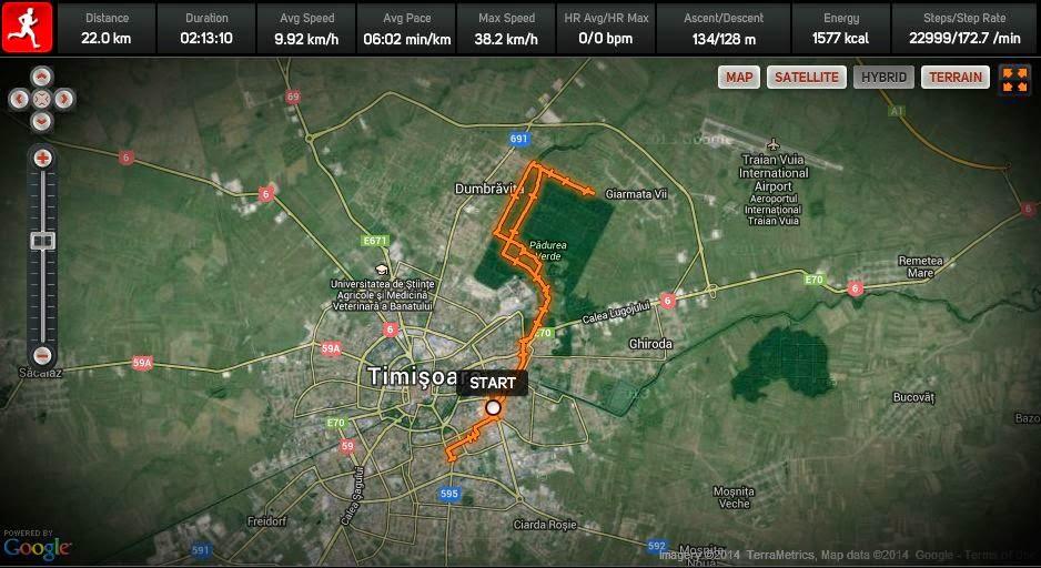 M-am îndrăgostit de Pădurea Verde din Timişoara. Trail running-ul este soluţia ideală când te antrenezi pentru ultrarunning. Fat Burn 20