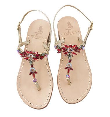 Hawaii - Red Jewel Sandals