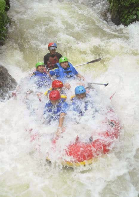 Tempat Rafting di Jogja