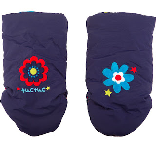 Stroller Hand Muffs - Tuc Tuc Night Picnic