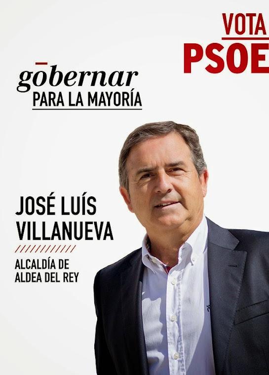 vota PSOE ALDEA DEL REY