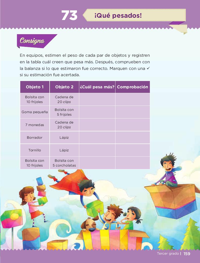 ¡Qué pesados! - Desafios matemáticos 3ro Bloque 5/2014-2015
