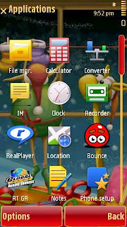 BoxingDay theme by Yris22 for Symbian S60v5