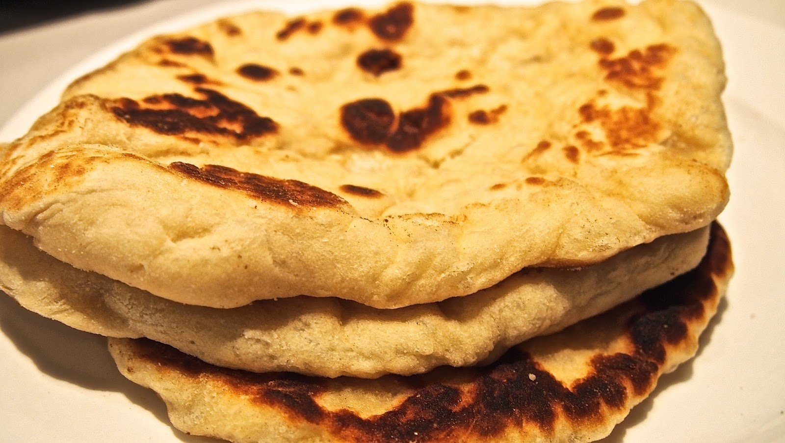 have been wanting to experiment with naan bread for a long time i ...