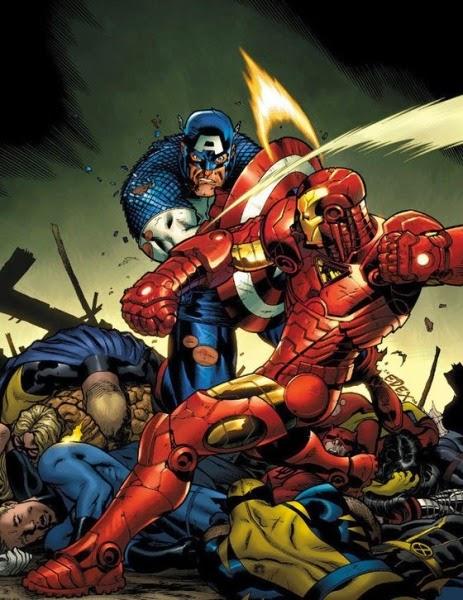 the toronto comics marvel s civil war review