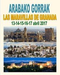 NOS VAMOS A GRANADA - 13 al 17 de abril
