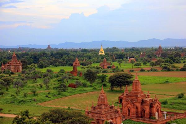 Pagodas de Bagan en Myanmar