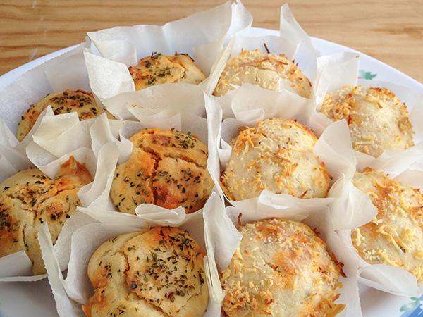 muffins de chorizo con y sin queso