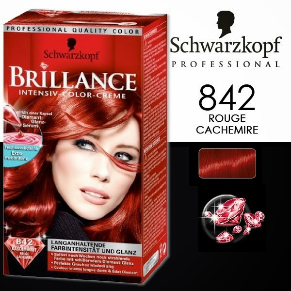 laventure schwarzkopf rouge cachemire 842 - Coloration Rouge Schwarzkopf