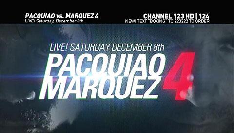 Manny Pacquiao vs Juan Manuel Marquez 4 Live Pay Per View Provider USA PPV TV