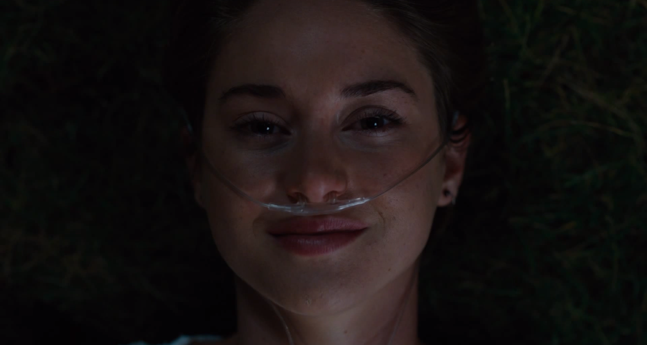 love and death in the lives of hazel grace lancaster and augustus waters in the fault in our stars a
