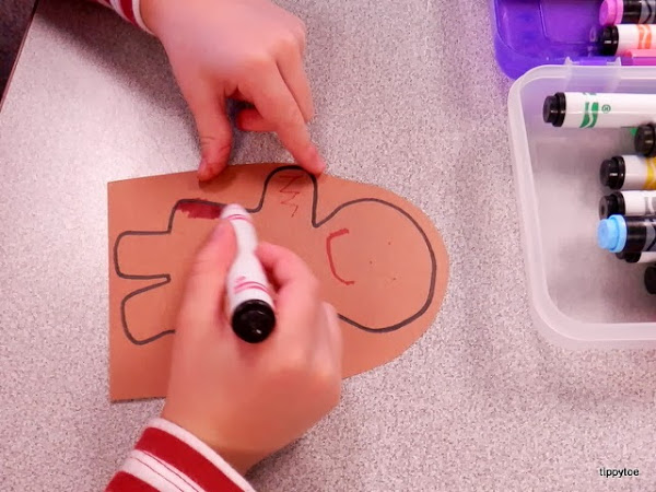 Gingerbread Man Coloring Pages Download