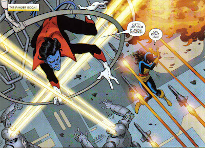 I have to go to Taco Bell to get a comic with Nightcrawler, rather than just the bloody comic shop...