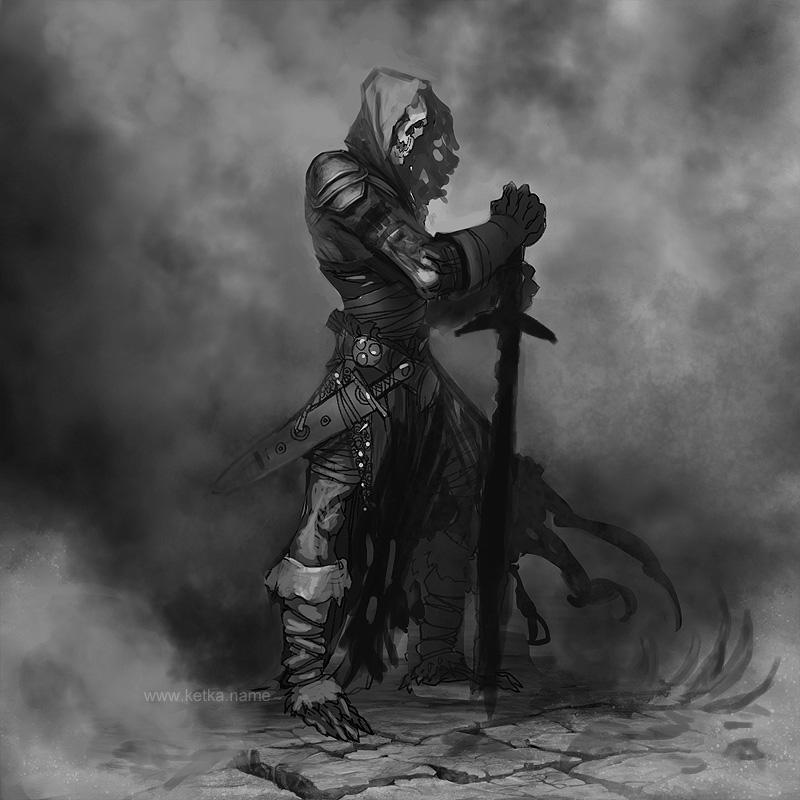 New Race: Skeleton Skeleton_longsword