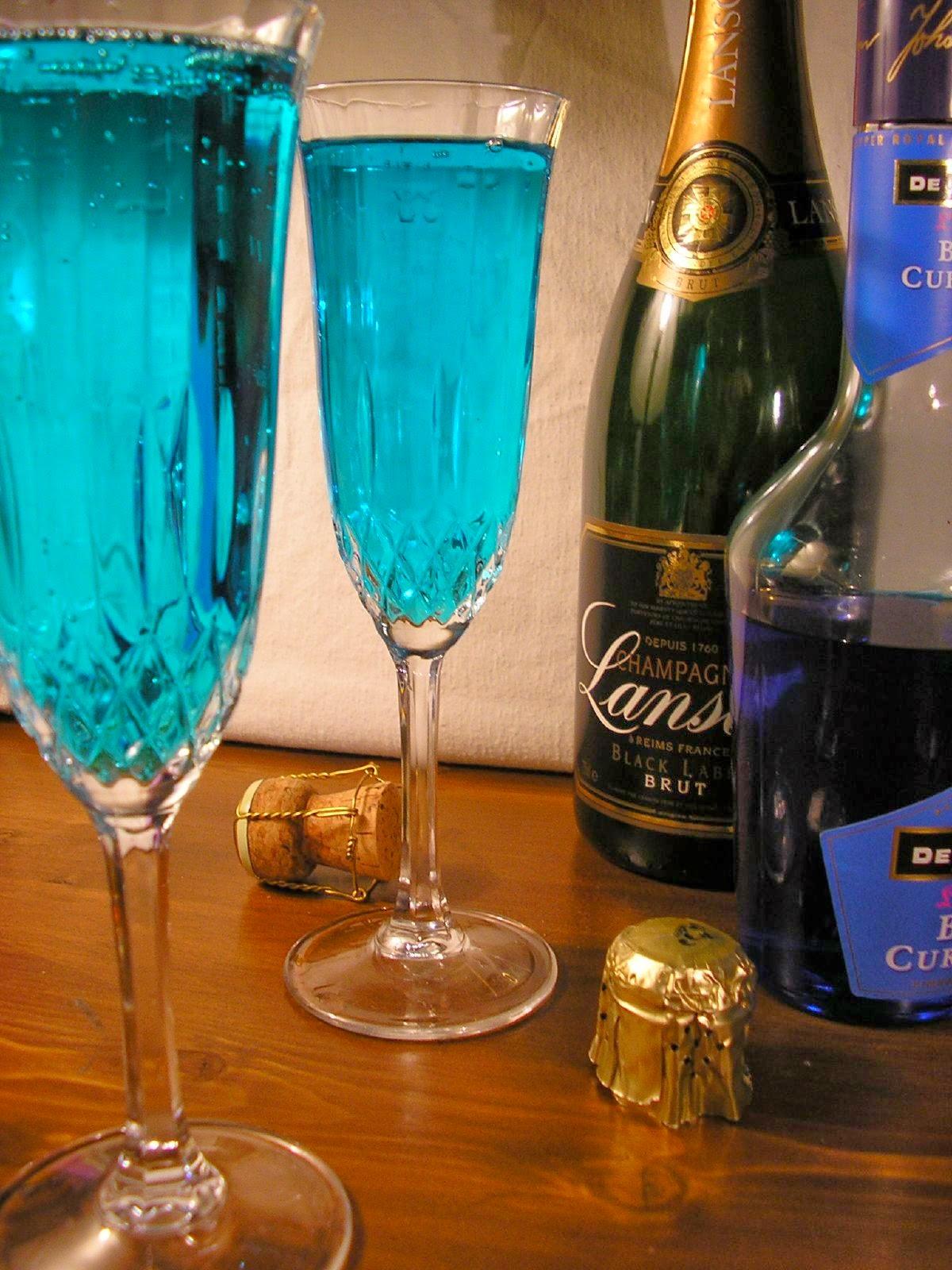 recetas de bebidas champagne