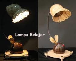 Durian19artsBlog: Cara Membuat Lampu Hias Unik Dari Batok Kelapa