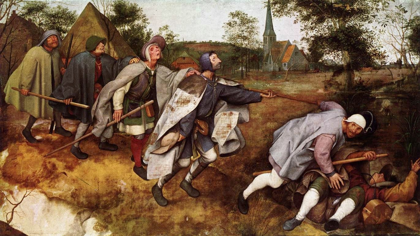 "La parabola dei ciechi"" di Pieter Bruegel"