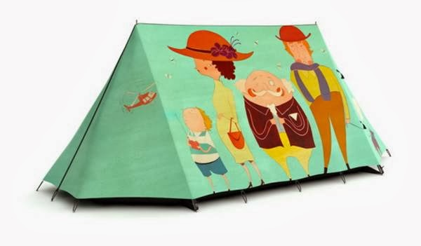 Wacky Tent Designs For Happy Campers by Fieldcandy
