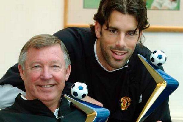 Ruud van Nistelrooy dan Fergie