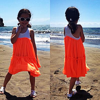 Tutorial vestido niña a partir de una camiseta