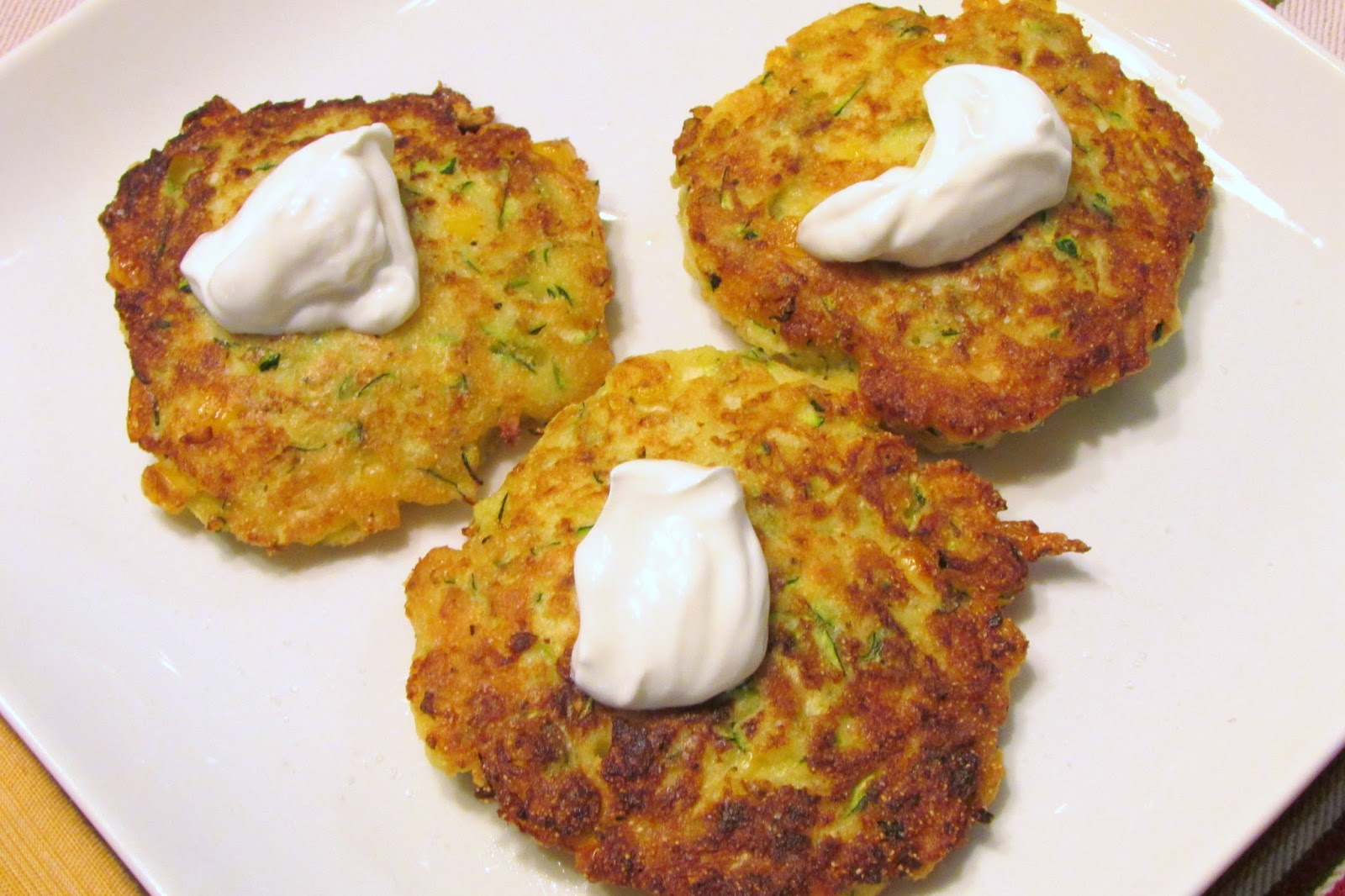 zucchini day and i m on a quest for the perfect zucchini fritter ...