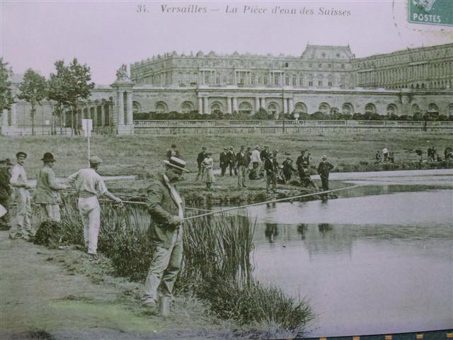 Fishing next to Versailles palace