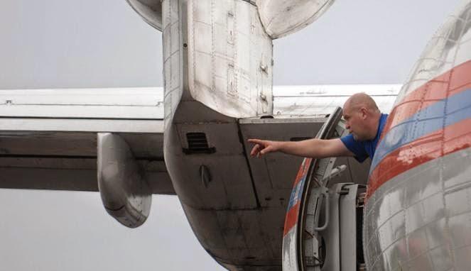 FOTO: Jet Amfibi Rusia Cari AirAsia QZ8501