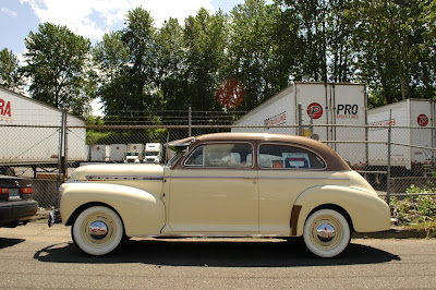 Old parked cars 1941 chevrolet special deluxe 2 door sedan for 1941 chevy 4 door sedan