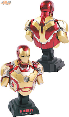 Hot Toys 2013 Preview - Iron Man 3 Mk VIII Bust