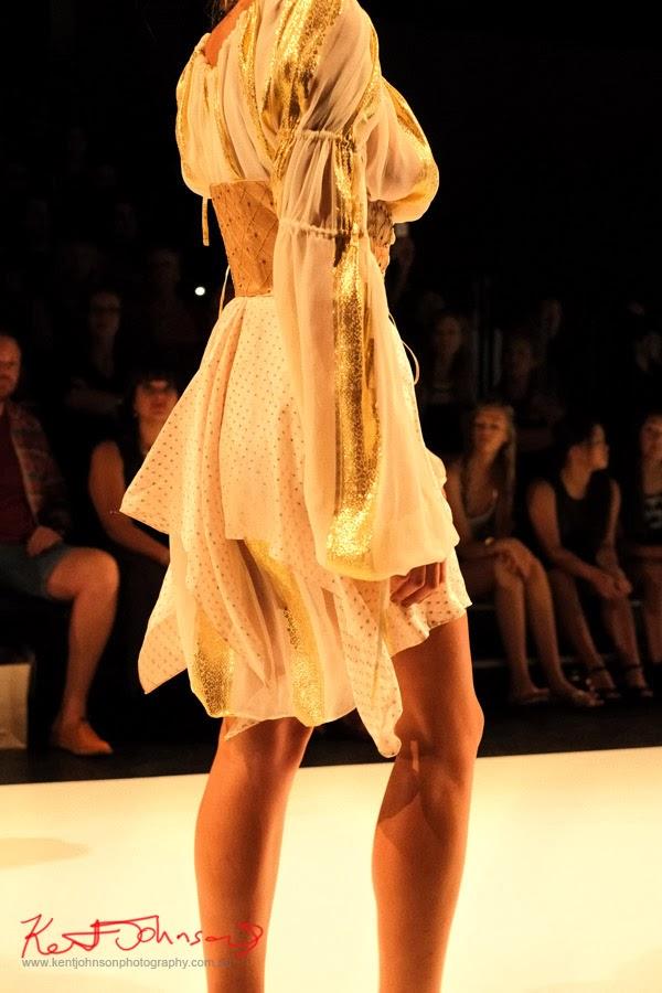 Jing Ting Xu, Detail - New Byzantium : Raffles Graduate Fashion Parade 2013 - Photography by Kent Johnson.