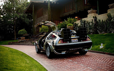 DeLorean DMC 12 Back To The Future Car HD Wallpaper