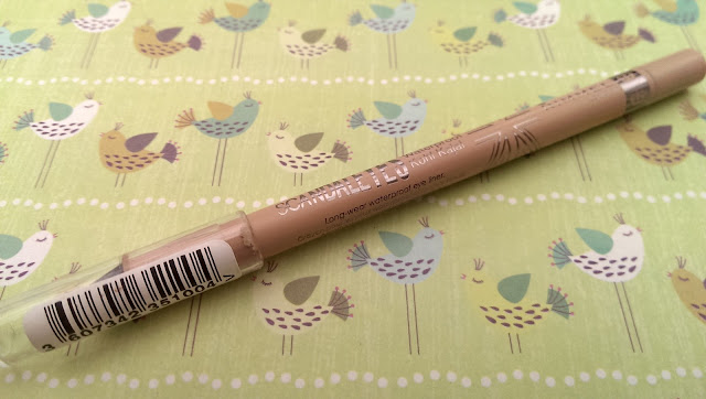 A photo of the rimmel scandaleyes nude liner