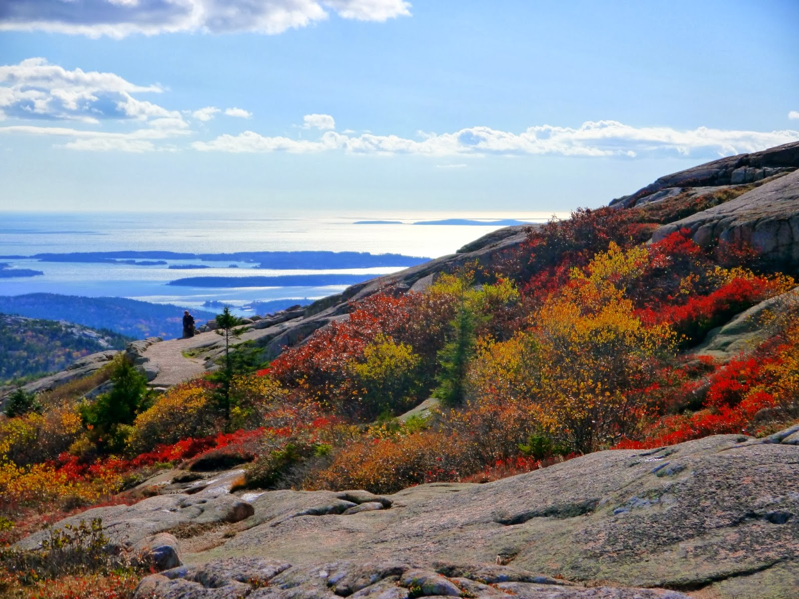 American Travel Journal: Cadillac Mountain - Acadia ...