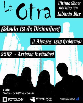 """Buitre y La Otra en """"Libario Bar"""""""