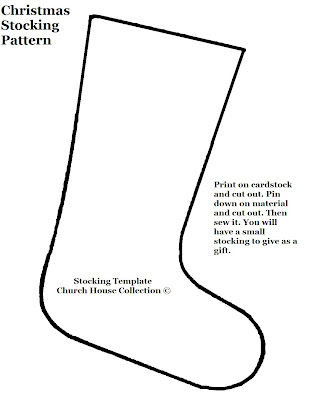 photo regarding Printable Stocking Pattern named Printable Stocking Practice Behavior Gallery