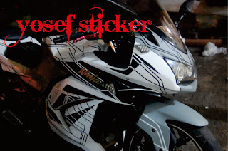 YOSEF CUTTING STICKER (SURABAYA CUTTING STICKER NINJA 250) STICKER