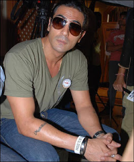 Arjun Rampal Forearms Tattoo Design