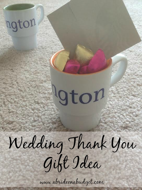 Wedding Thank You Gift Idea For Under 5 A Bride On A Budget