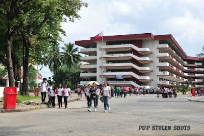 ang mga larawan ay mula sa PUP STOLEN SHOTS