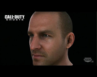 Kopfmodell aus der Call of Duty Ghost Demo